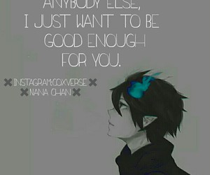 anime, boy, and quote image