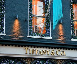 tiffany, christmas, and lights image