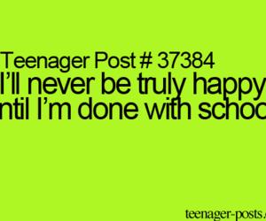 happy, school, and tumblr image