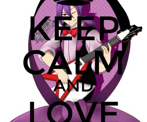 Bonnie, keep calm and, and love image