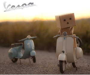 danbo, heart, and nature image