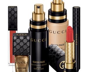 gucci, lipstick, and nail image