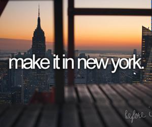 new york, ny, and text image
