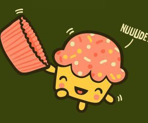 cupcake, Nude, and funny image