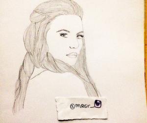 artwork, draw, and Jennifer Morrison image