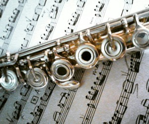flute music bach image