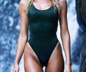 candice swanepoel, blonde, and body image