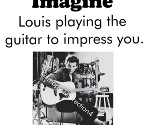 imagine and louis tomlinson image