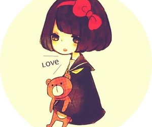cute, kawaii, and love image