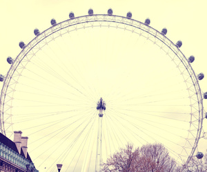 london and ferris wheel image