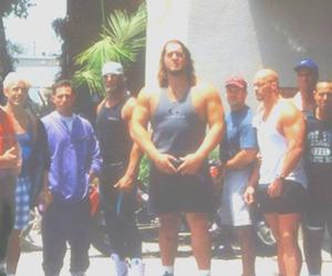 goldberg, retro, and wrestlers image