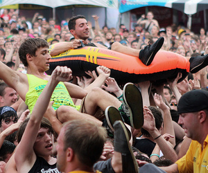 bmth, crowd, and bring me the horizon image