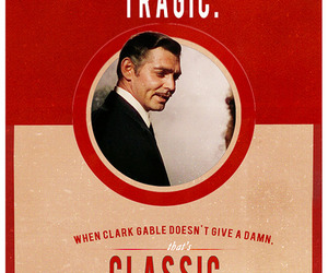 clark gable and Gone with the Wind image