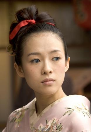 beauty, geisha, and kimono image
