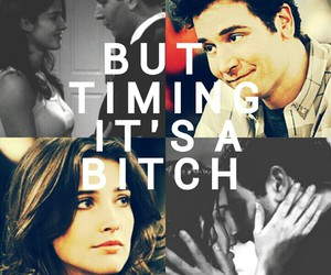 bitch, chemistry, and himym image