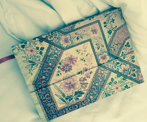 diary, lovely, and flowers image