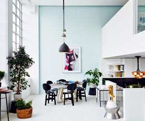 blue, loft, and nordic image