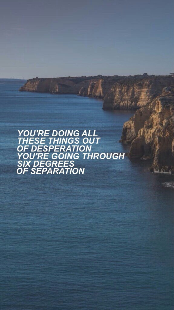 The Script Six Degrees Of Separation On We Heart It