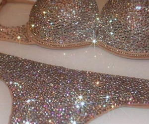 glitter, luxury, and sexy image