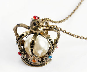 fashion, necklace, and vintage image