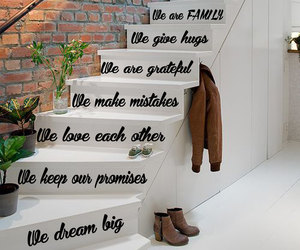wall decals and staircase decor image