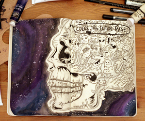 skull and wreck this journal image
