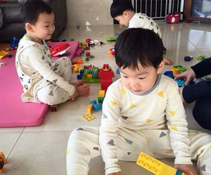 boy, brothers, and manse image