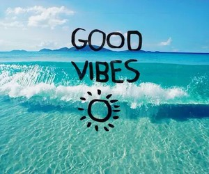 summer, good vibes, and beach image