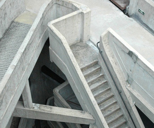 white, pale, and stairs image