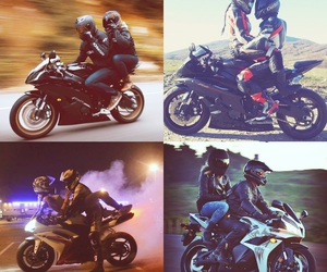 Best, bikers, and couple image