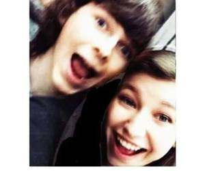 the walking dead, chandler riggs, and katelyn nacon image