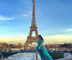 paris, dress, and girl image
