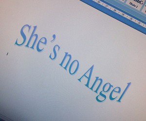 angel, aesthetic, and blue image
