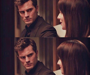 fifty shades of grey, anastasia steele, and christian grey image