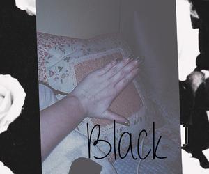black, girl, and hand image