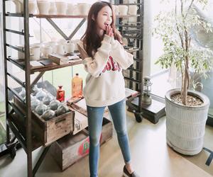 fashion, kfashion, and korean girl image