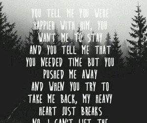 shawn mendes, the weight, and Lyrics image