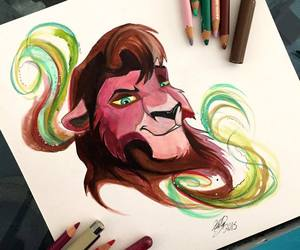 colorfull, disney, and draw image
