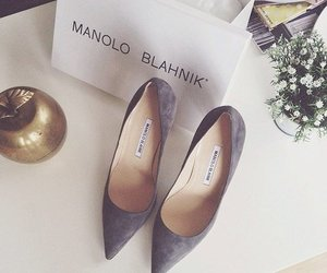 fashion, manolo blahnik, and shoes image