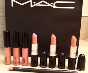 lipstick, fashion, and mac image