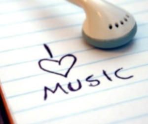 music, i love music, and love image