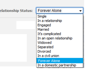 single, relationship status, and in a relationship image