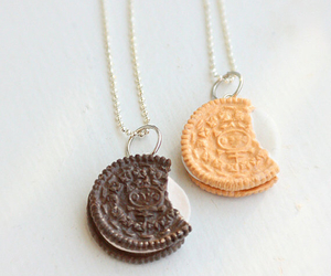 oreo, cool, and necklace image
