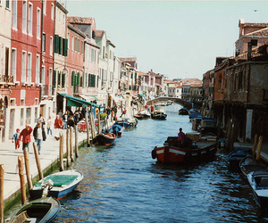 boats, canal, and inspirational image