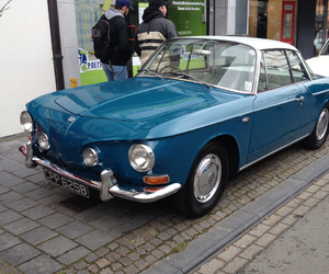 karmann ghia and volkswagen image