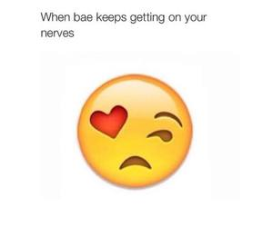 bae, funny, and true image