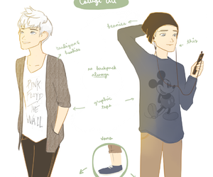 college, jack frost, and punziella image