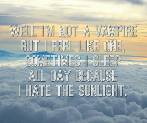 Lyrics, vampire, and wallpaper image