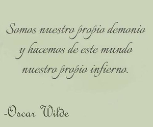 oscar wilde, frases, and hell image