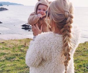 baby, beautiful, and hair image